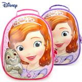 迪士尼幼儿园书包小公主苏菲亚宝宝蛋壳书包2-5岁卡通儿童书包