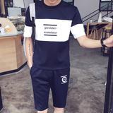 名牌运动套装男士春季青中年运动服套装休闲卫衣套装修身