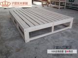特价实木成人双人床1.5 1.8榻榻米单人床儿童床1.0 1.2简易松木床