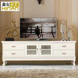 欧式实木电视柜简约现代客厅柜 卧室地柜组合矮柜储物收纳柜特价