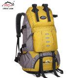 超大容量双肩背包男旅行背包女 户外背包大双肩登山包50L防水背包