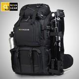 NOVAGEAR摄影包专业双肩单反相机包佳能多功能户外双机大容量背包