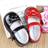2016春秋款1-2-3-4岁女童皮鞋红黑色女宝宝单鞋小公主鞋儿童鞋子