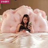 韩式靠垫芯 抱枕靠背床头双人三角长榻榻米软包床上大靠垫芯 靠枕