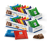 德国Ritter Sport瑞特斯波德mini进口巧克力休闲零食7味150g*2盒