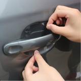 3包12片汽车门把手保护膜拉手犀牛皮门碗腕划痕保护贴膜汽车用品