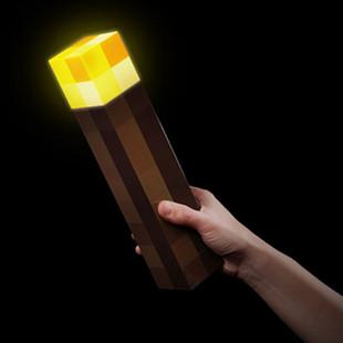 Minecraft 我的世界 可亮灯火把