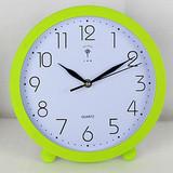 【天天特价】北极星创意10寸挂钟卧室静音座钟客厅时尚艺术台钟表