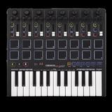Reloop Keypad 25键MIDI键盘效果器DJ控制器匹配Ableton Live 9