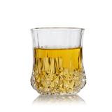 [居家礼盒6只装]家用透明玻璃杯钻石杯啤酒杯套装果汁杯耐热水杯