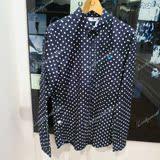 香港代购16春夏FRED PERRY正品男装时尚新款英版长袖衬衫