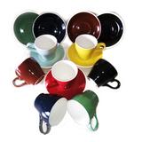 加厚 单品 卡布奇诺咖啡杯碟套装陶瓷杯子 ACF拉花意式  180ML