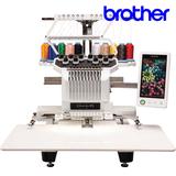 兄弟电动绣花机PR1000e商用/工业绣花机电脑绣花机刺绣机单头十针