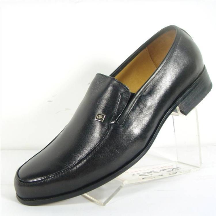 森达男鞋正装皮鞋男图片
