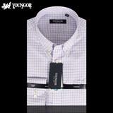 专柜正品雅戈尔男士春装新款DP免烫修身长袖衬衫YLDP12093KKY