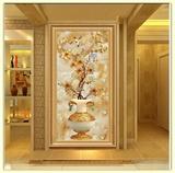 欧式装饰画客厅沙发墙画三联简欧玄关挂画美式餐厅现代组合鹿壁画