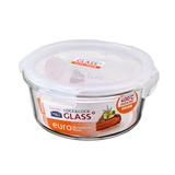 超值爆款乐扣玻璃饭盒圆形烤箱大保鲜盒便当盒微波炉保鲜碗LLG861