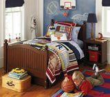 特价实木儿童床欧式箱体床地中海美式乡村床比邻乡村单人床双人床