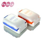 FaSoLa 药盒 创意小药盒 便携一周 分装药盒 随身收纳盒外带药盒