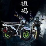 摩托车 小祖玛摩托车越野两轮个性摩托车125CC助力休闲改装摩托车