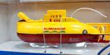 六通迷你无线遥控潜水艇 遥控迷你潜艇 水上玩具 遥控核潜艇