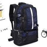 新款超大容量户外背包登山包50L男女双肩旅行包徒步防水旅游背包