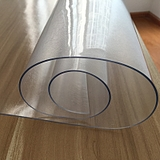 PVC桌布软质玻璃防水防烫餐桌台布塑料茶几垫免洗磨砂透明水晶板