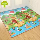 星期八环保双面宝宝爬行垫加厚1.5婴儿爬爬垫毯儿童游戏泡沫地垫