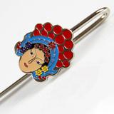 京剧脸谱书签中国风纪念品 中国特色礼物送老外 外事商务出国礼品