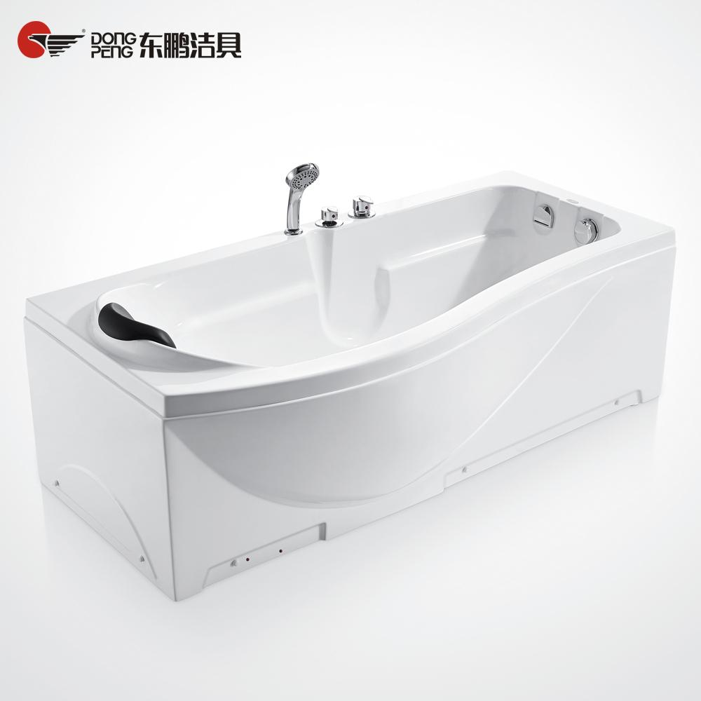 东鹏洁具单双裙按摩冲浪浴缸170DR
