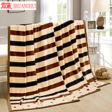 儿童小毯子学生宿舍冬季毛毯珊瑚绒加厚双单人休闲法兰绒床单单件