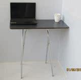 折叠桌子高腿餐桌简易家用电脑桌折叠桌吃饭桌摆摊户外写字台便携