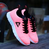 匹克跑步鞋女鞋 夏季新款情侣慢跑鞋女子网面透气休闲鞋运动鞋男