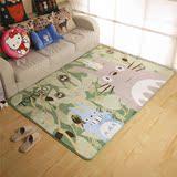 客厅茶几地毯宫崎骏龙猫婴儿爬行垫地垫床前地垫儿童游戏垫子包邮