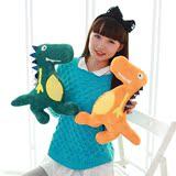 毛绒玩具大号恐龙游乐园儿童靠垫抱枕午睡卡通靠枕女生礼物
