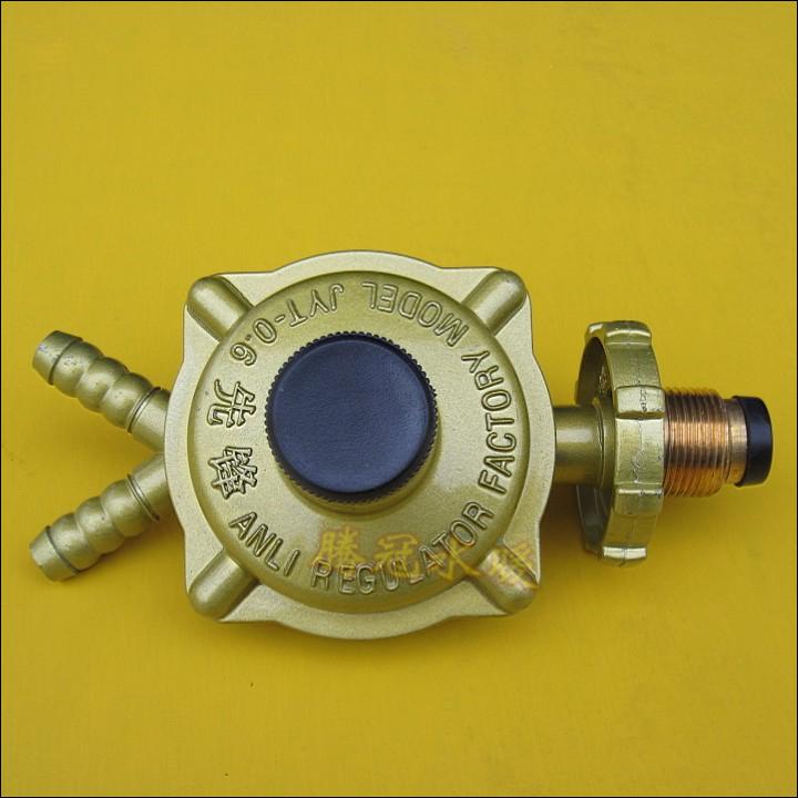 大流量减压阀/调压阀/煤气阀/液化石油气调压器/双嘴 双咀 先锋牌商品