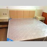 上海宾馆酒店床旅馆家具床全套单双人床软包床头快捷简约板式床