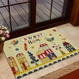 超薄居家防滑门厅地垫门垫创意宜家卧室卡通脚垫地毯