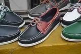 外贸原单sebago帆船鞋全牛皮 英伦休闲真皮皮鞋低帮鞋男 经典款