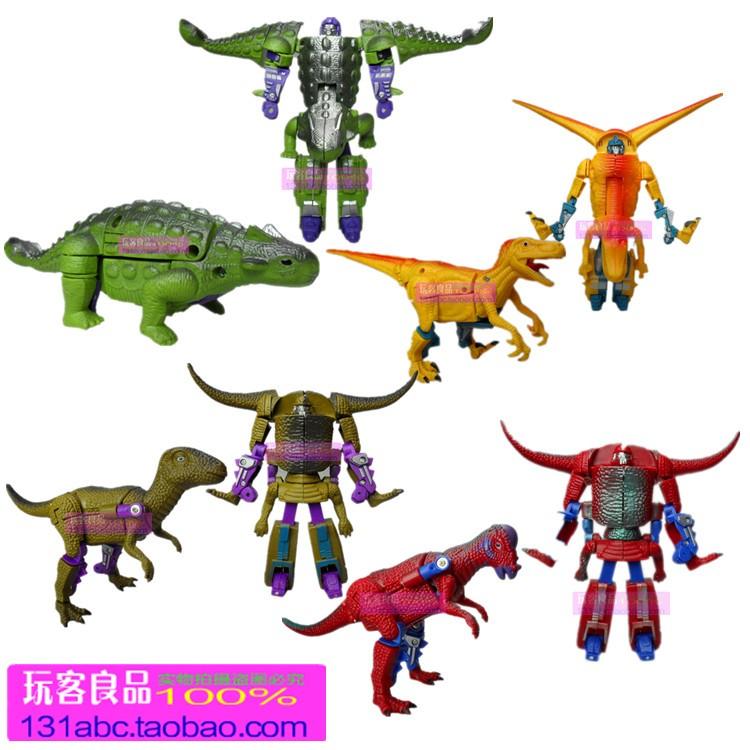 變形恐龍機器人圖片