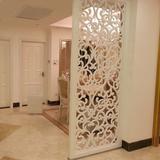 定制欧式镂空隔断雕花板  隔断玄关客厅隔断镂空隔断墙 雕花隔断