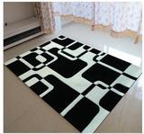 欧式田园小圆形地毯电脑椅垫客厅卧室防滑圆型地垫转椅吊篮垫定制