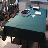 爆款限量促销酒店桌布展台办公桌餐厅方台台布饭店桌布会议桌布