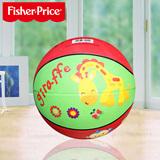 美国费雪7寸宝宝拍拍球儿童玩具幼儿园充气皮球卡通多种动物图案