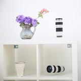 单反镜头模型1:1 佳能EF70-200F4小白兔镜头模型 小小白镜头