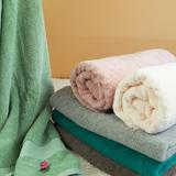 酒店素色浴巾有机纯棉柔软加厚抹胸吸水运动情侣大浴巾ZARA同款