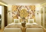 美式乡村3d无缝壁画壁纸家装工装电视客厅书房餐厅儿童卧室背景墙