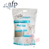 土猫AFP猫砂天然玉米豆腐猫砂无粉尘除臭抗菌6L*6包猫咪日用品