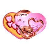 德芙心语 丝滑牛奶夹心巧克力8枚爱心礼盒装 结婚庆喜糖成品团购