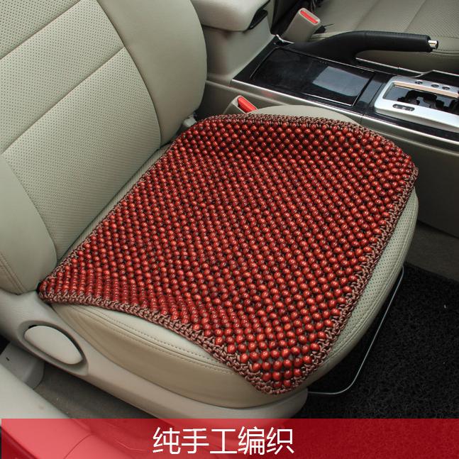 紅木珠汽車座墊 夏季涼墊 健康環保無漆 圓珠子坐墊香商品圖片價格圖片